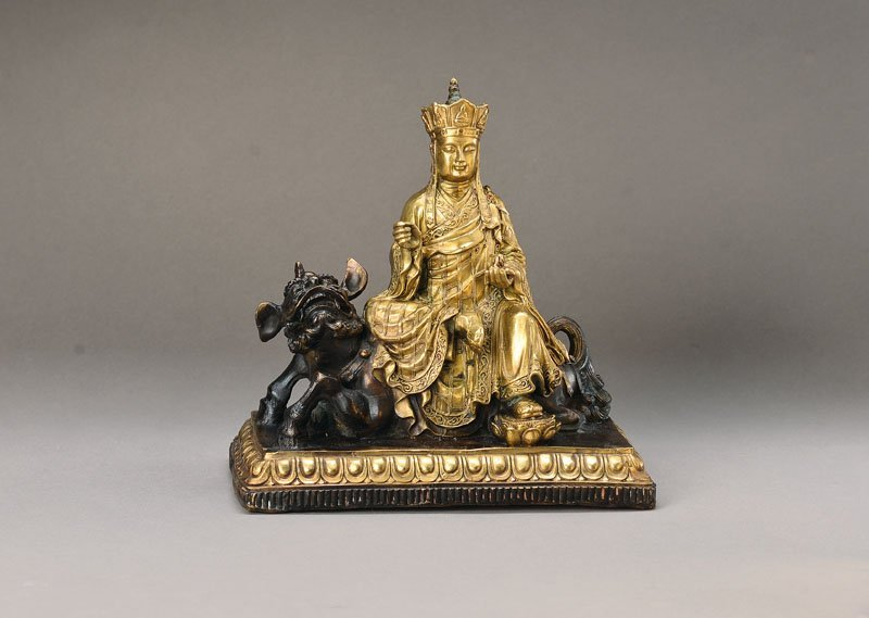 Sculpture, China, 17th-18th C.