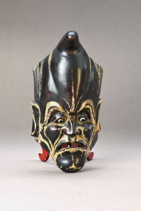 Mask, Japan, Around 1900