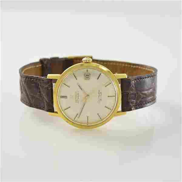 OMEGA 18k gold gents wristwatch Seamaster De Ville