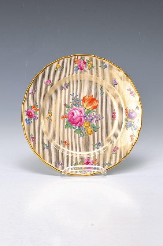 pompous plate, Nymphenburg