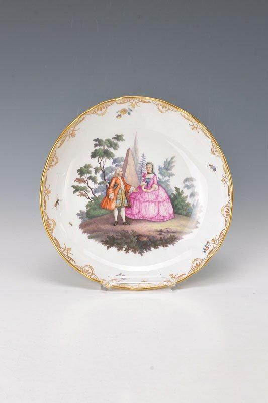 bowl, Meissen, around 1860