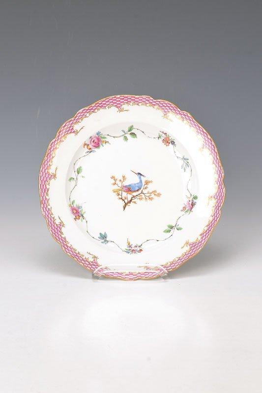 plate, Meissen, Marcolini