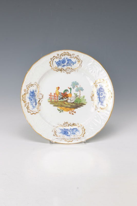 plate, Meissen, around 1830