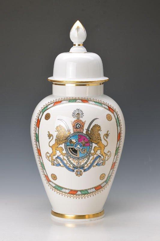 Pompous vase, Meissen