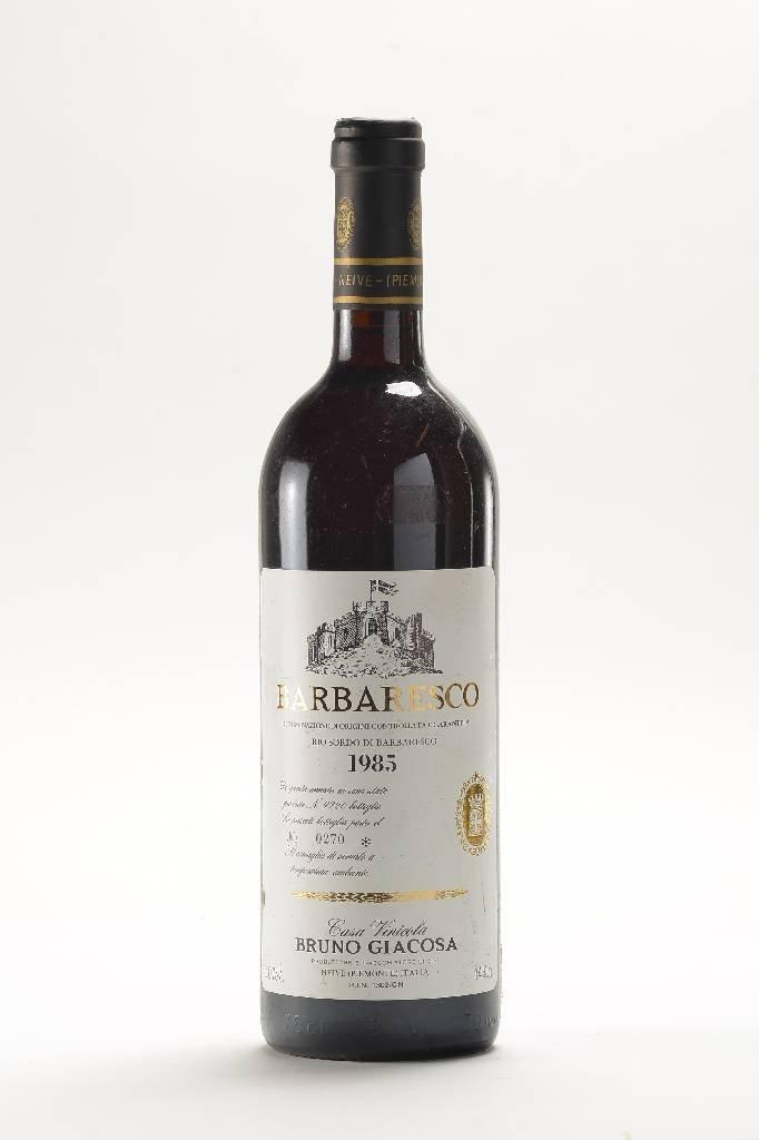 5 bottles of 1985 Bruno Giacosa Barbaresco