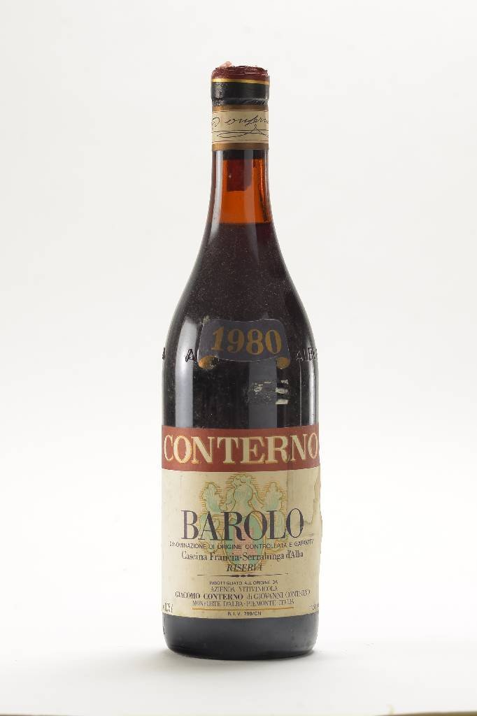 2 bottles of 1980 Conterno Barolo Riserva