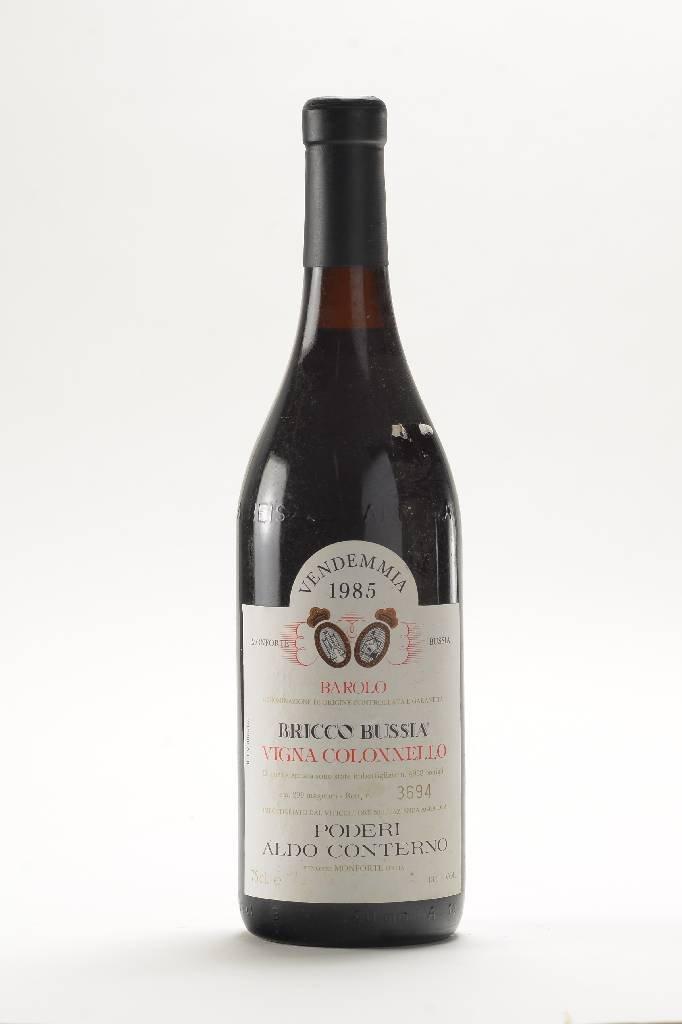 2 bottles of 1985 Vendemmia Bricco Bussia Barolo