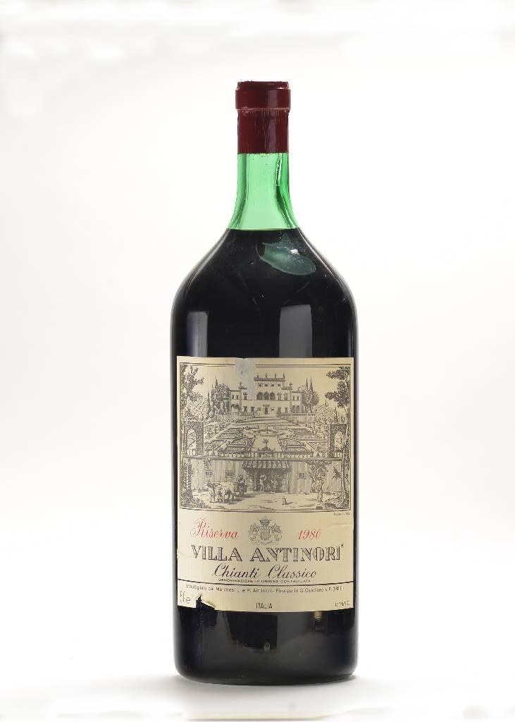 1 Jeroboam bottle of 1980 Villa Antinori Chianti
