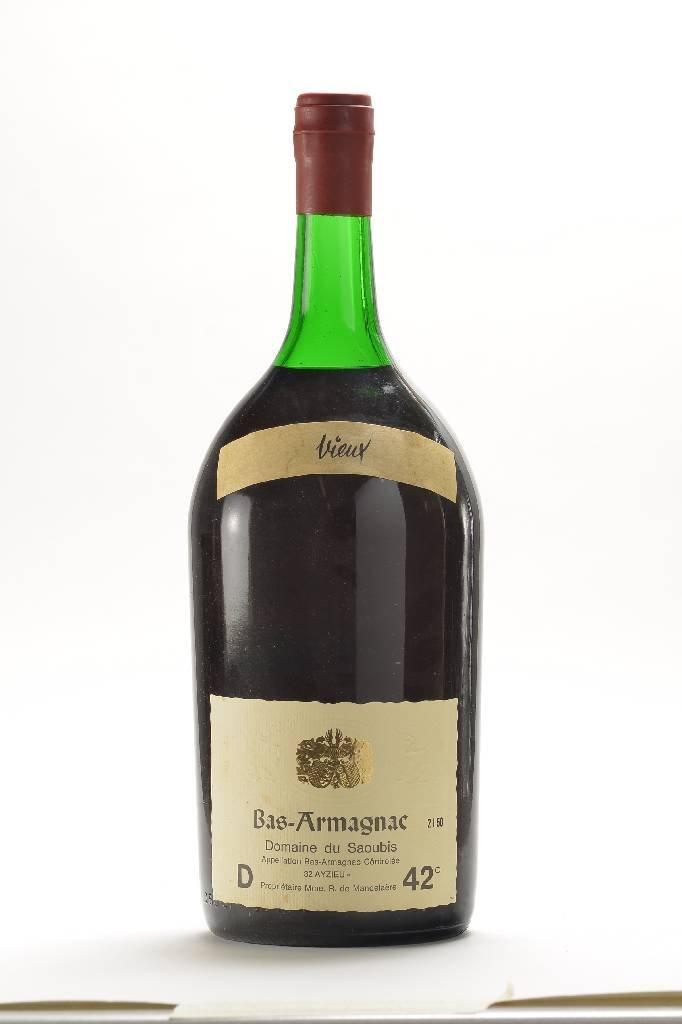 1 bottle Bas Armagnac Domaine de Saoubis, Vieux