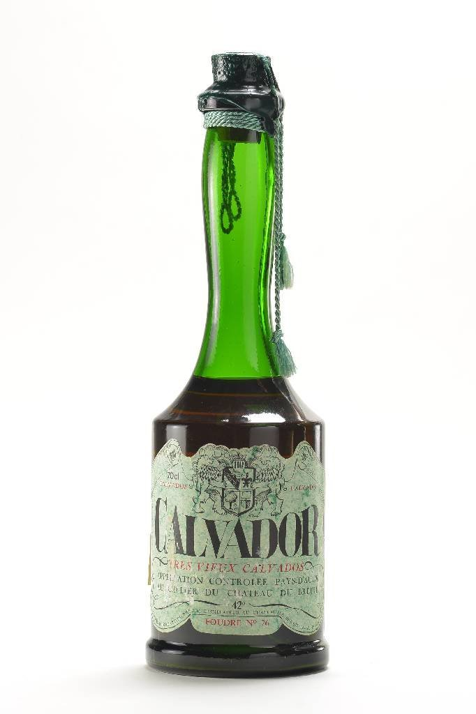 1 bottle of Calvados Tres vieux