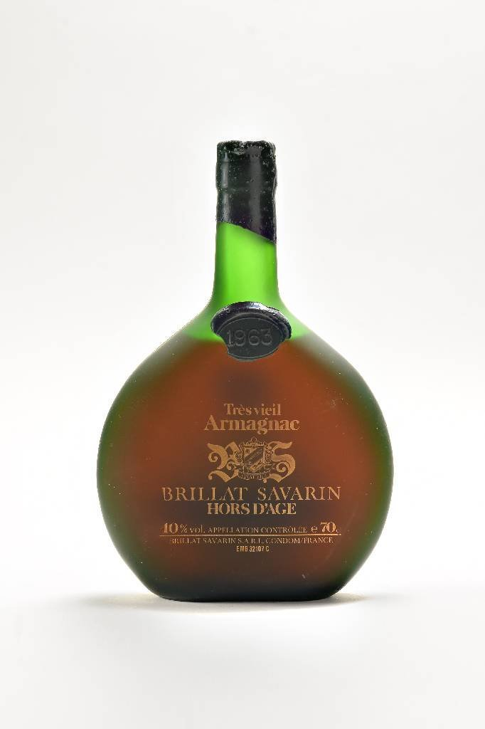 1 bottle of 1963 Tres Vieil Armagnac Brillat Savarin