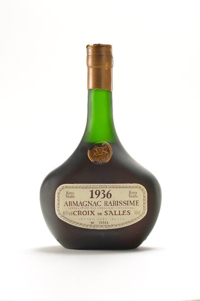 1 bottle Croix de Salles Armagnac Rarissime, 1936