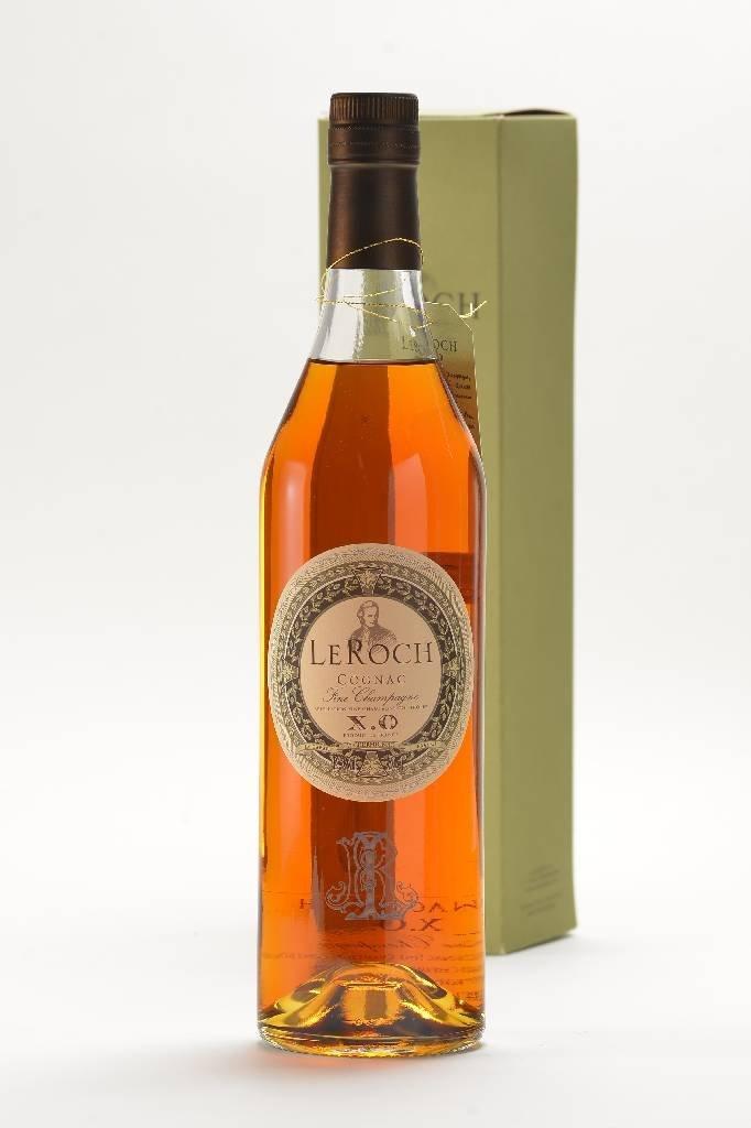 3 bottles of Le Roch Cognac Fine Champagne X.O