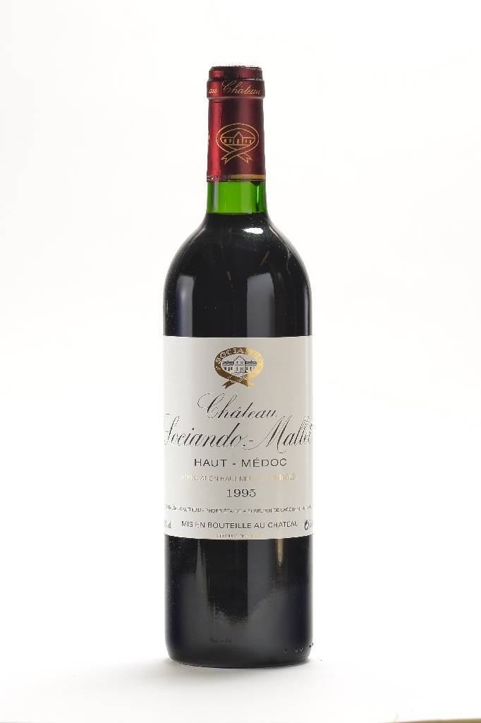 12 bottles of 1995 Chteau Sociando Mallet, Haut-Mdoc