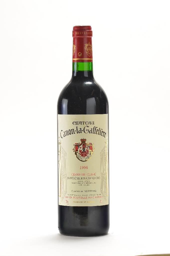 12 bottles of 1996 Chteau Canon La Gaffeliere