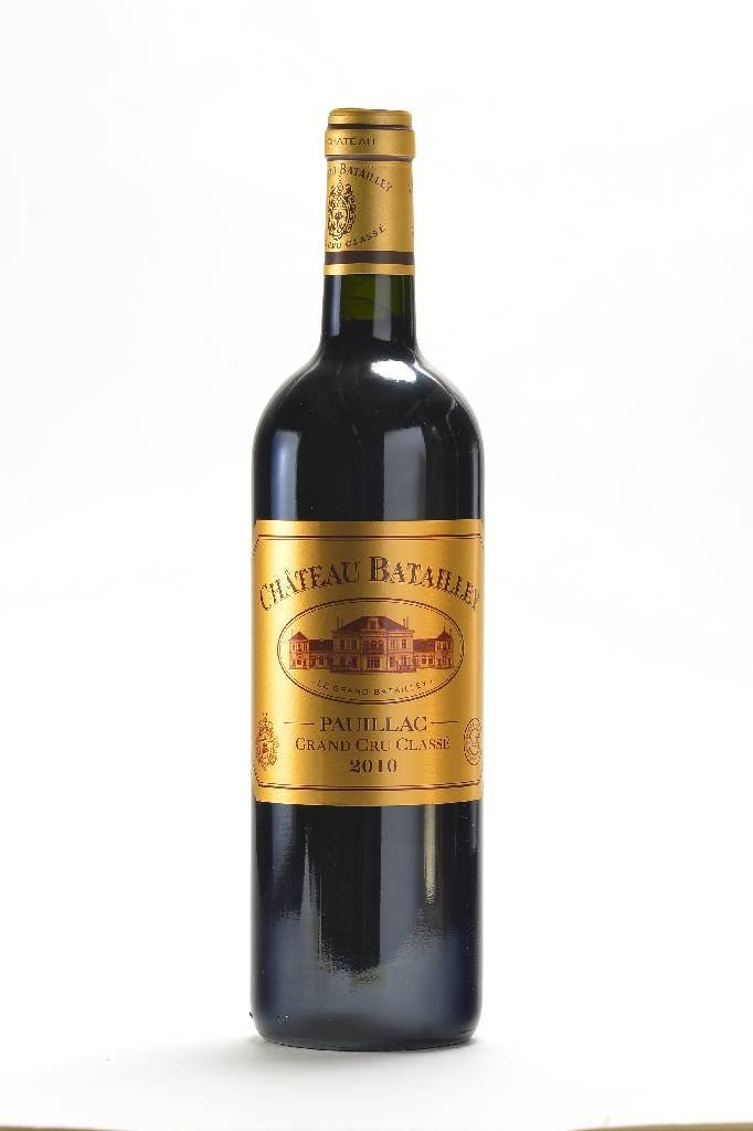 12 bottles of 2010 Chateau Batailley, Pauillac