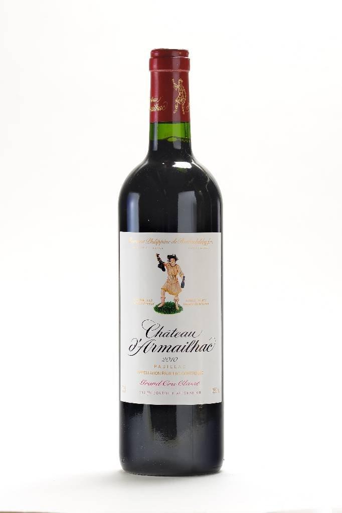 12 bottles of 2010 Chateau d'Armailhac, Pauillac