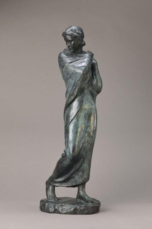 Fritz Klimsch, 1870-1960, bronze sculpture