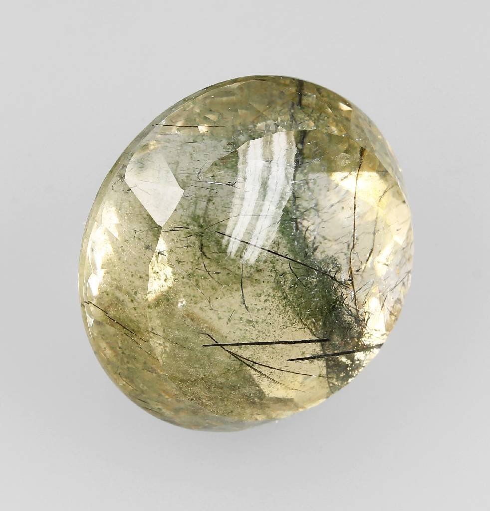 Round citrine, approx. 335.5 ct