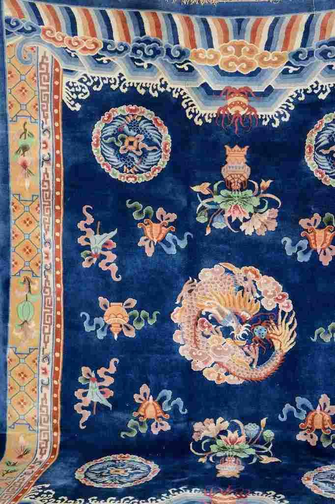 Chinese Dragon-Carpet,