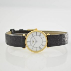 Longines 18k Yellow Gold Ladies Wristwatch