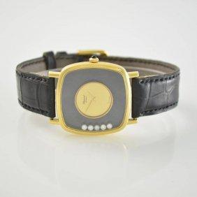 Chopard 18k Yellow Gold Happy Diamonds Wristwatch