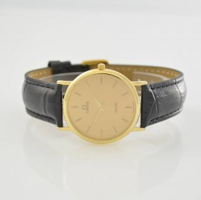 Omega 18k Yellow Gold Wristwatch Series De Ville