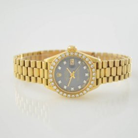 Rolex Ladies Wristwatch Oyster Perpetual Datejust