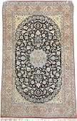 Part-Silk Nain 'Tudeshk' Mofidi (Signed),
