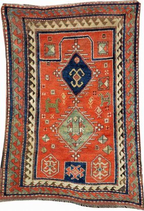 Bordjalou-kazak 'prayer-rug',