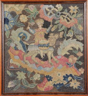 Petit-point 'embroidery' (the Drummer),