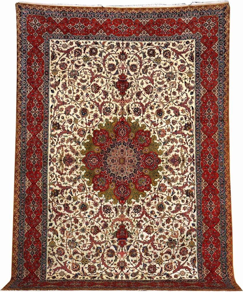 Very Fine Tabriz Carpet (50 Raj),