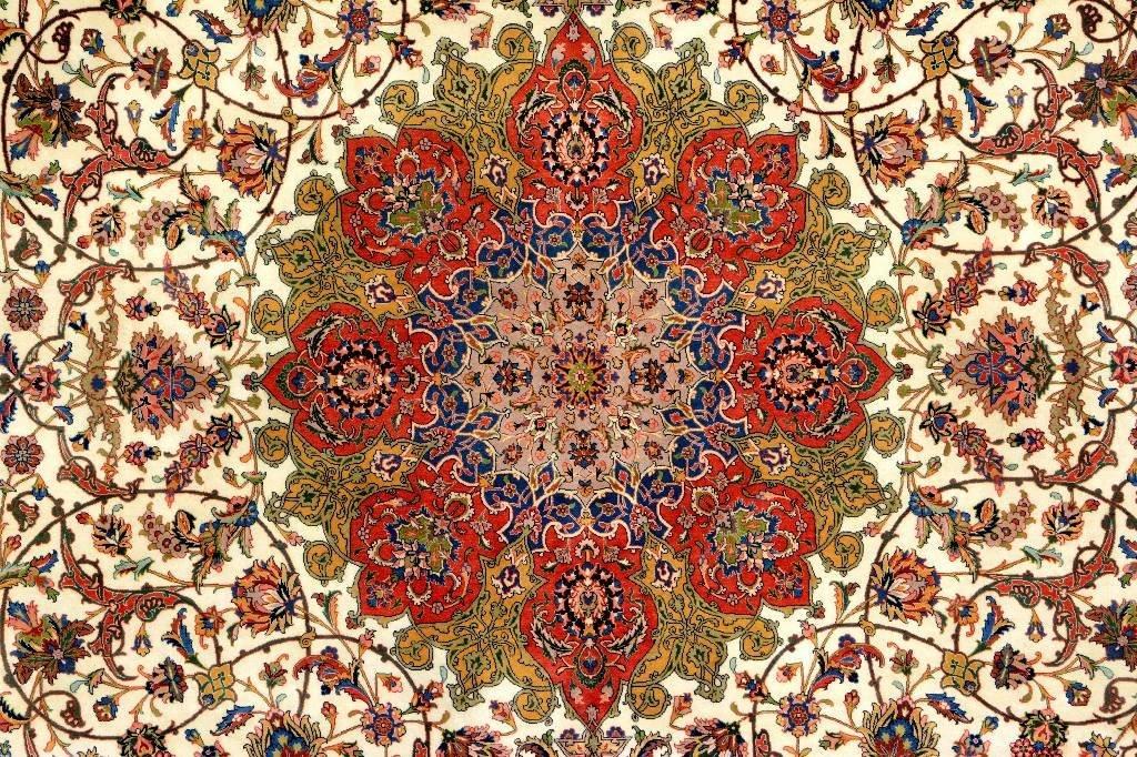 Very Fine Tabriz Carpet (50 Raj), - 2