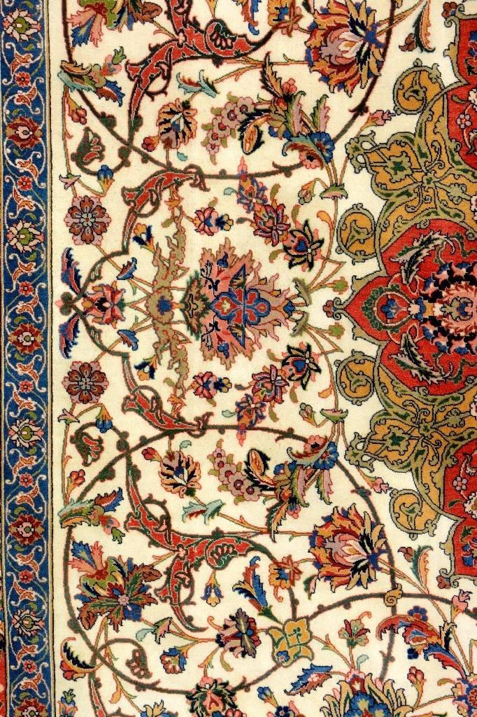 Very Fine Tabriz Carpet (50 Raj), - 4