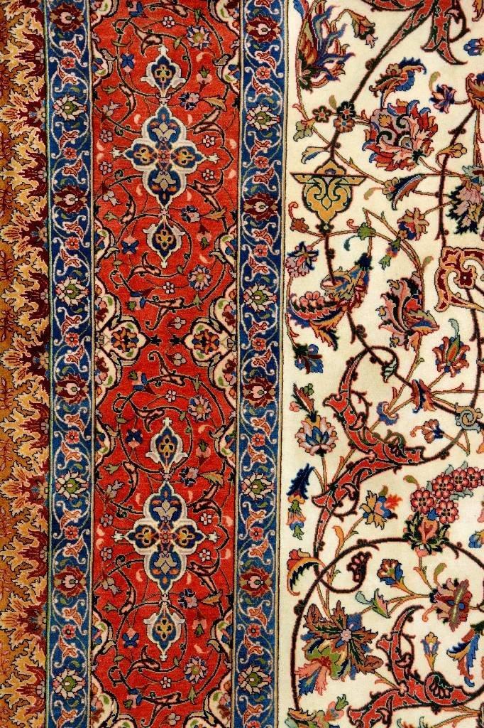 Very Fine Tabriz Carpet (50 Raj), - 5
