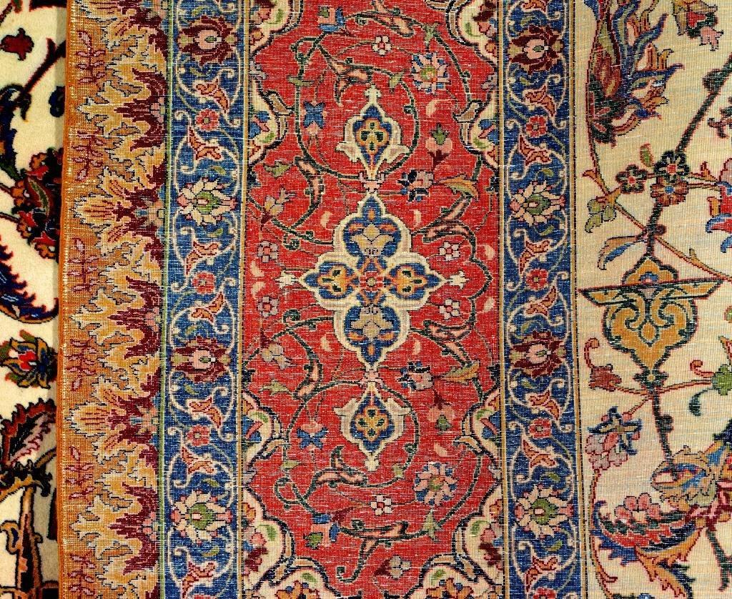 Very Fine Tabriz Carpet (50 Raj), - 6