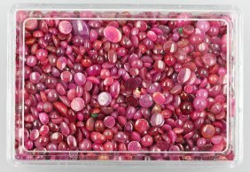 Lot Loose Rubies