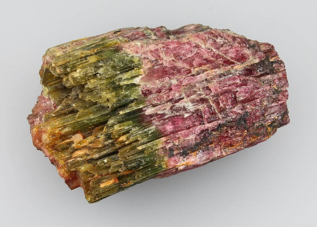 Tourmaline rough crystal