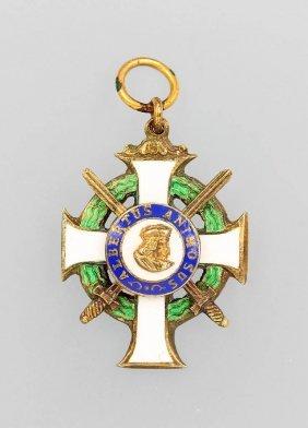 Miniature Order Of Knights, Sachsen 1914/18