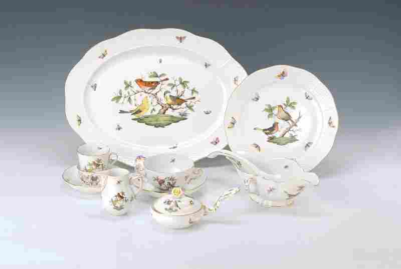 dinner and coffee set, Herend