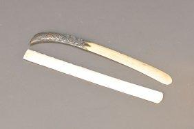 2 Paper Knives, German, Around 1900