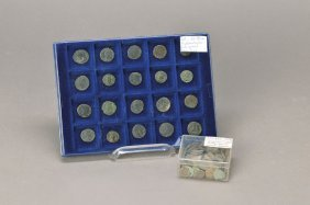 20 Roman Coins/150 Uncleaned Coins