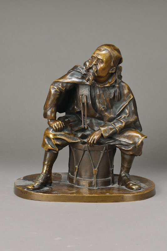 bronze sculpture, L.E.Kampf