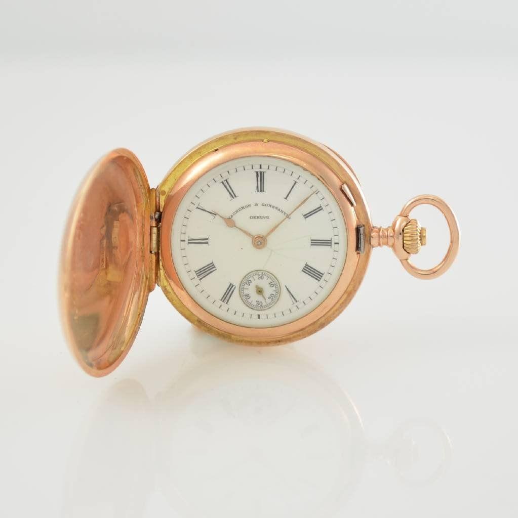 VACHERON & CONSTANTIN 14k pink gold pocket watch