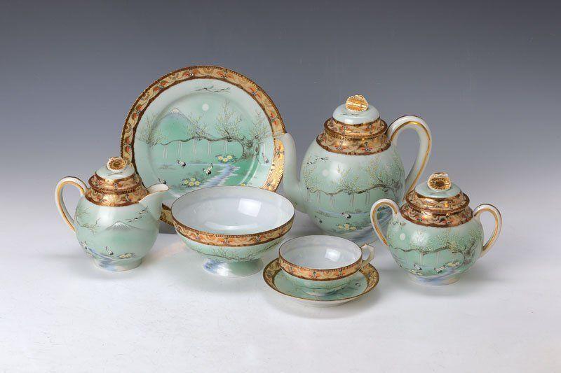 tea set, Japan, around 1935