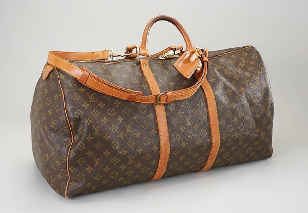 LOUIS VUITTON travelling bag, 'Keepall 65'