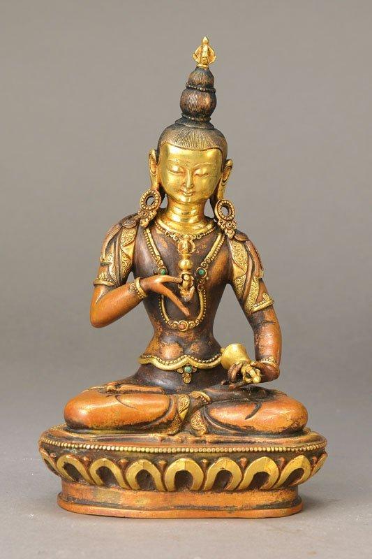 Vajrasattva Statue, Tibet
