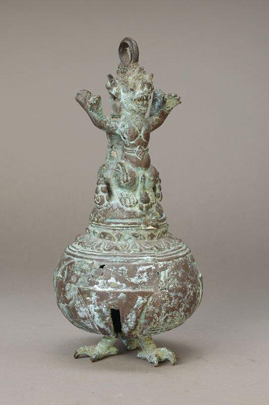 Temple bell, Tibet