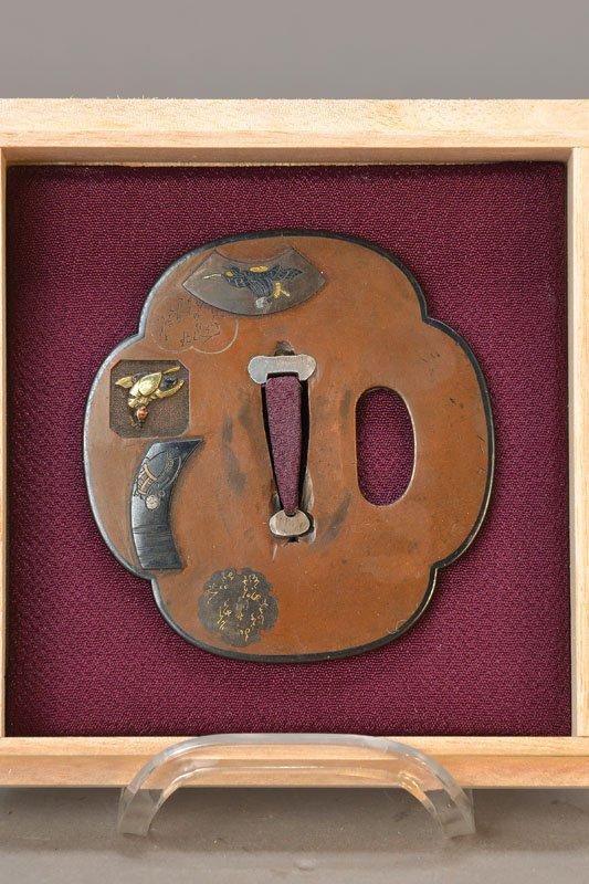 copper tsuba, Edo period