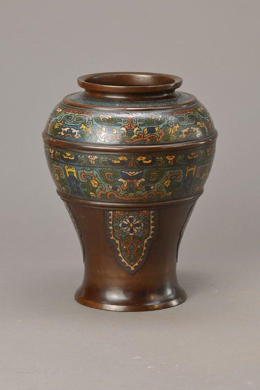vase, Japan, around 1870/80